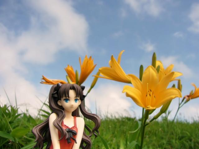 Fate/stay night 魔法使いの夏休み 遠坂凛 -Summer Ver.- カットNo.006