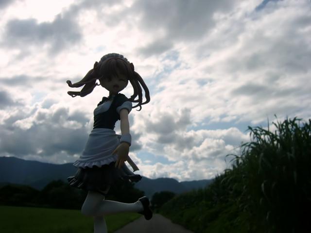 コトブキヤ 4-Leaves 白井黒子 とあるメイドの空間転移 カットNo.010