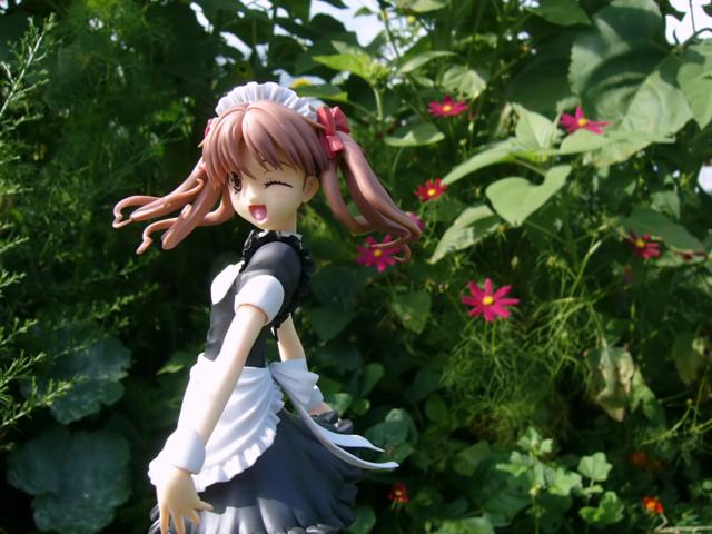 コトブキヤ 4-Leaves 白井黒子 とあるメイドの空間転移 カットNo.008
