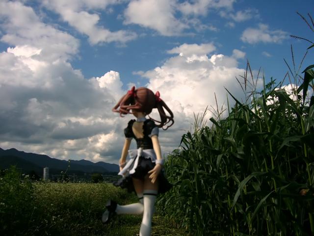 コトブキヤ 4-Leaves 白井黒子 とあるメイドの空間転移 カットNo.002