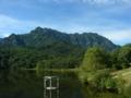 [風景・景観][山][湖]鏡池 (長野県長野市)