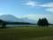 霊仙寺湖と黒姫山・妙高山