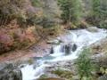 [風景・景観][紅葉][滝]横谷渓谷・おしどり隠しの滝