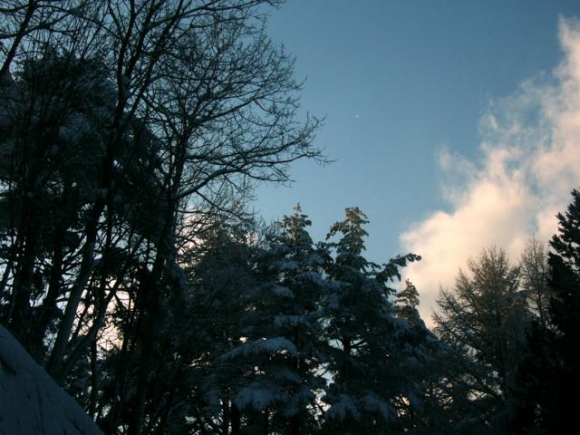 [風景・景観][雪][空]