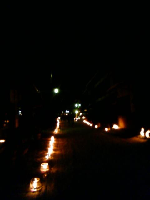 2012年02月03日 奈良井宿・木曽谷氷雪の灯祭り