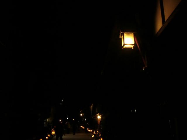 2012木曽路氷雪の灯祭り(奈良井宿)