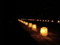 [風景・景観][夜]2012木曽路氷雪の灯祭り(奈良井宿)