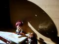 [フィギュア][GoodSmileCompany][ねんどろいど]figmaさやかちゃんの台座が役に立つとは…!(金環日食)