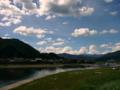 [風景・景観][空]宮川 (岐阜県飛騨市)