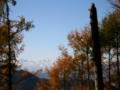[風景・景観][空]北アルプス遠望