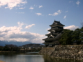[風景・景観][城跡・城郭]松本城