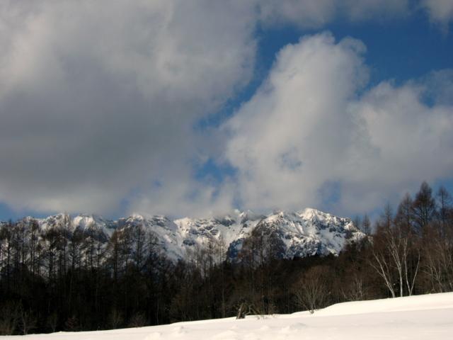 [雪][空][山]