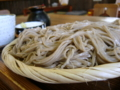 [料理・食品・飲料][蕎麦]かじか亭のざるそば大盛り (長野県飯山市)