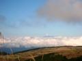 [風景・景観][空][山]御嶽山遠望