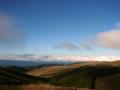 [風景・景観][空][山]中央アルプス・御嶽山遠望