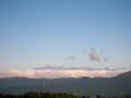 [風景・景観][空][山]北アルプス遠望