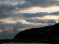 [空][雲]東伊豆の夜明け