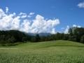 [風景・景観][空]中山高原(長野県大町市)