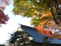 [神社・仏閣][紅葉]温泉寺(長野県諏訪市)
