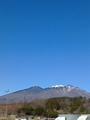 [はてなハイク][空][山]八ヶ岳PAより