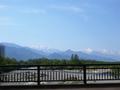 [風景・景観][空][河川]高瀬橋より(長野県安曇野市)