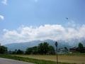 [風景・景観][空]五竜岳方面を望む