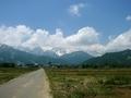 [風景・景観][空]白馬三山方面を望む