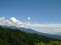 [風景・景観][空]八ヶ岳方面を望む