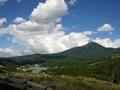 [風景・景観][空]蓼科山を望む
