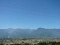 [風景・景観][空][山]池田町クラフトパーク(長野県北安曇郡池田町)