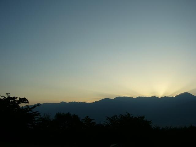 長峰山パラグライダー場より