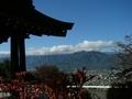 [風景・景観][空][紅葉]霊松寺(長野県大町市)