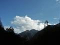 [風景・景観][空]高瀬渓谷(長野県大町市)