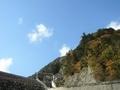 [風景・景観][紅葉]高瀬渓谷・七倉ダム(長野県大町市)