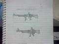榴弾式オートマシンガン(アルファ)