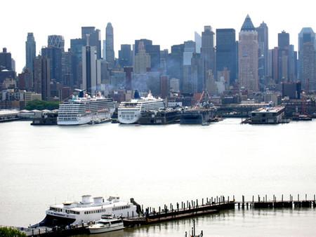 The New York Harbor
