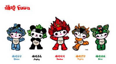 Summer Olympics 2008 Mascot