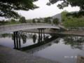 宇治川・中島にかかる小橋