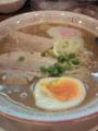 [ラーメン]「檜庵」の豚骨魚介ラーメン