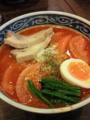 [ラーメン]焼きトマトのイタリアンラーメン @檜庵