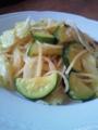 [パスタ]塩麹の野菜パスタ