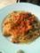 豚バラとピーマンのトマトパスタ