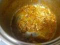 [パスタ]チキンのトマト煮の残りで