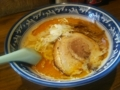 [ラーメン]麺や樽座 海老味噌ラーメン