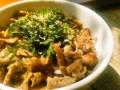[料理]わさび醤油牛丼