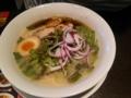 [ラーメン]水炊き鶏白湯 #三大ラーメン祭り @バーミヤン