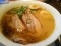 [ラーメン]炙り叉焼と黒マー油の味噌ラーメン #三大ラーメン祭り @バーミヤン