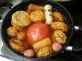 [料理]おでんにトマト