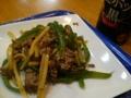 [料理]青椒肉絲