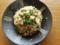 ツナ缶と菜の花の炒飯